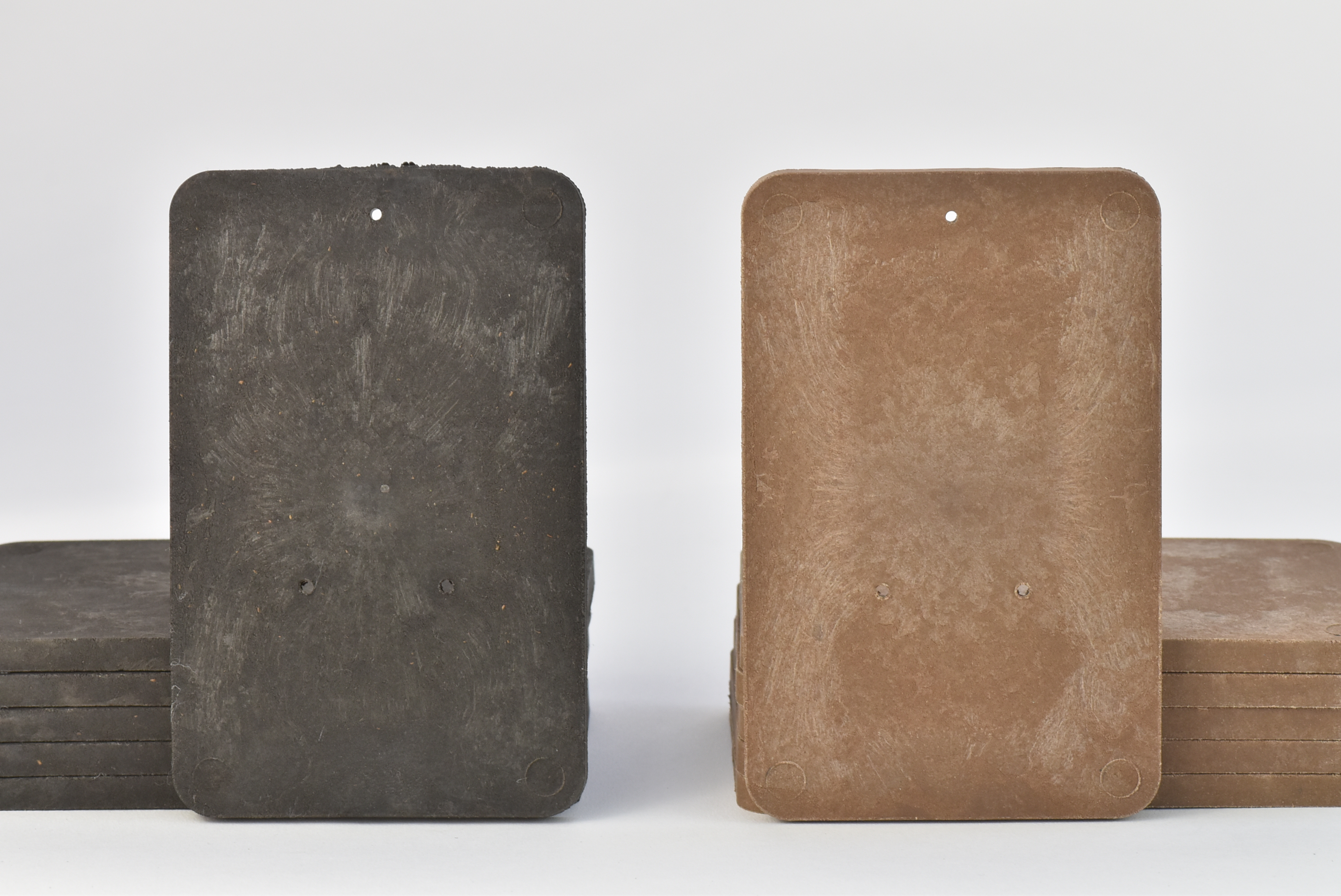 バイオマスプレート 6枚セット【送料込み】 擬木素材 着生材 壁掛け
