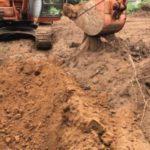 硬質赤玉土採掘現場3